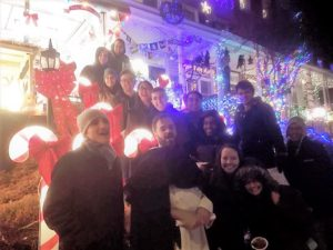 Christmas Caroling at the Miracle on 34th Street